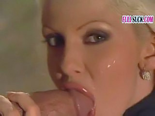 Amazing Blowjob Cumshot European Italian MILF Swallow