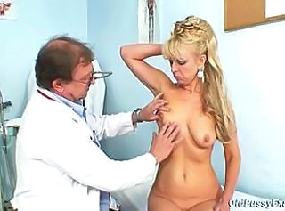 Doctor Mature Older Old and Young SaggyTits