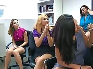 Blowjob CFNM MILF Office