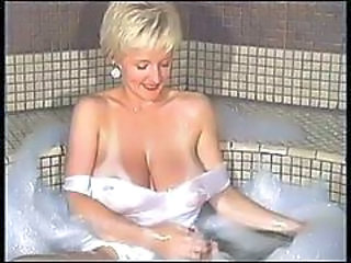 Bathroom Big Tits MILF Vintage