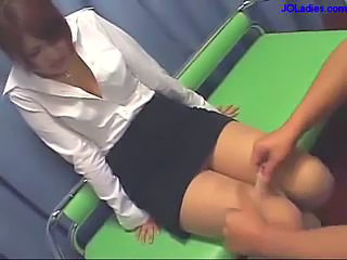 Asian Japanese MILF Skirt Toy