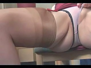 Big Tits Mature Panty Stockings Stripper