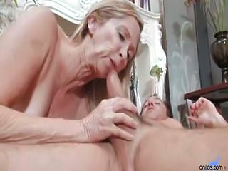 Sex starving grandma has sex stud