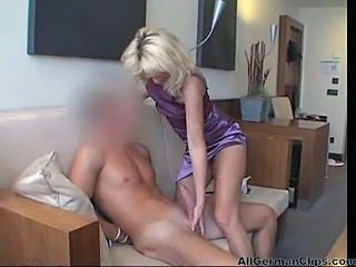 Big cock European German Handjob Mature