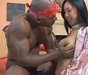Asian Big cock Interracial MILF