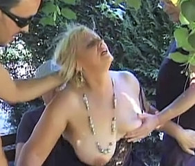 Gangbang Mature Outdoor