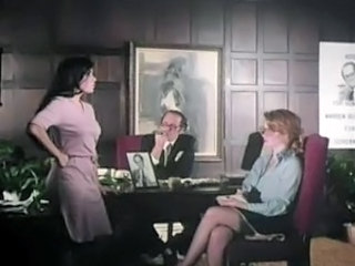 MILF Office Threesome Vintage