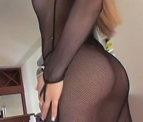 Ass Fishnet Lingerie