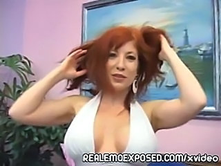 Sold my dick to a redhead milf  free