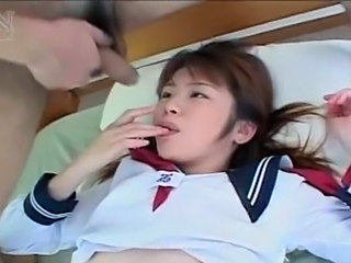 Asian Cumshot Japanese Swallow Teen Uniform