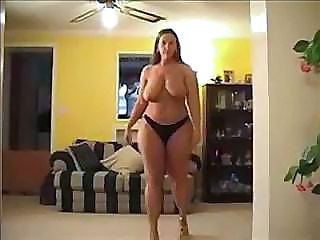 Big Tits Chubby MILF Natural Panty