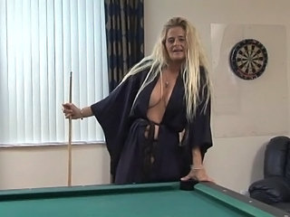 Blonde Mature Mom SaggyTits