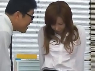 Asian Office Teen