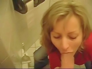 Blonde Blowjob Bus CFNM Mature Toilet