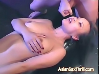 Asian Facial Cute MILF Skinny