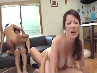 Asian Groupsex Japanese Kitchen MILF Swingers