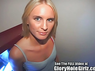 Glory Hole Girl Hanna Loves To Have Cum Dripping Off Of Her