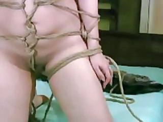 See Him Tie Her Up In Extreme Rope Bondage
