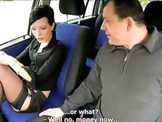 Amateur Car Old and Young Stockings Teen