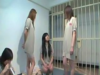 Asian Japanese Prison Teen Uniform