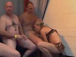 Amateur Blowjob European Gangbang German