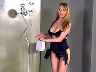 Amazing Lingerie MILF Stripper