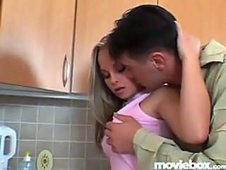 Cute Girlfriend Kitchen Teen
