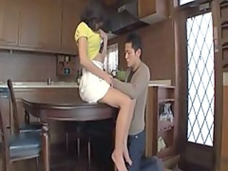 Asian Kitchen MILF Mom