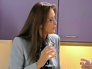 Drunk Glasses MILF Teacher