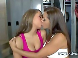 Kissing Lesbian MILF School Teacher Teen