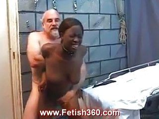 Ebony Hardcore Old and Young Slave