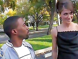 Interracial Mom Outdoor
