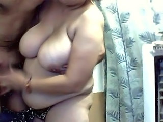 BBW Big Tits Indian Natural Webcam Wife