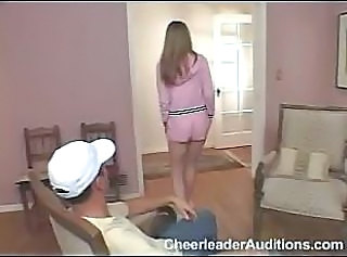 Casting Cheerleader Teen