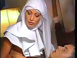 European Italian MILF Nun Uniform Vintage