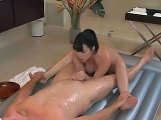 Lesbie Massage Becomes Strap onto Fuckfest