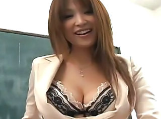 Amazing Asian Japanese Lingerie MILF School Teacher