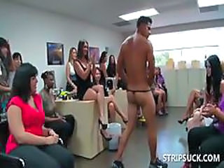 CFNM Party Stripper