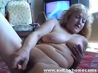 Granny Masturbating Toy
