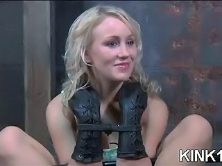 Blondine Bondage Teen