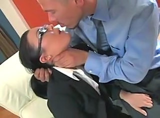Anal Forced Glasses MILF Secretary