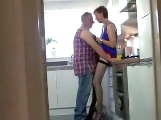 Kitchen Mature Stockings