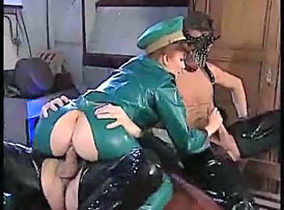 Clothed Fetish Hardcore Latex MILF Threesome Vintage