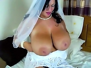 BBW Big Tits Bride MILF Natural