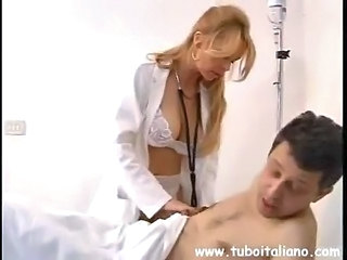 Big Tits Doctor European Italian Lingerie MILF Pornstar Uniform