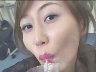Asian Japanese MILF Swallow