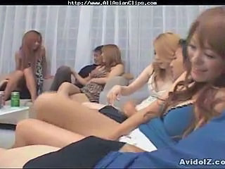 Asian Groupsex Japanese MILF Orgy Party Swingers