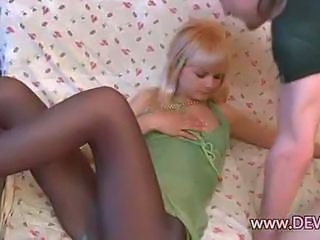 Amazing Pantyhose Teen