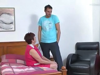 Maid Mature Mom Old and Young Uniform Young