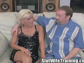 Blonde Cuckold MILF Wife